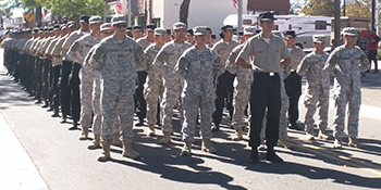 CMI Students in uniform