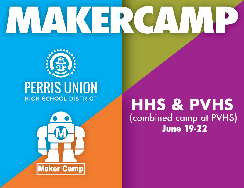 Maker Camp Flyer