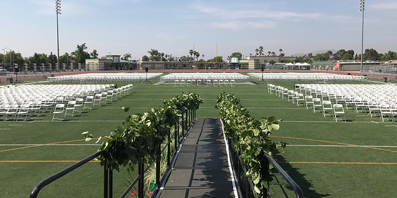 Perris High School Graduation
