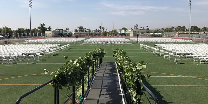 Perris High School Graduation
